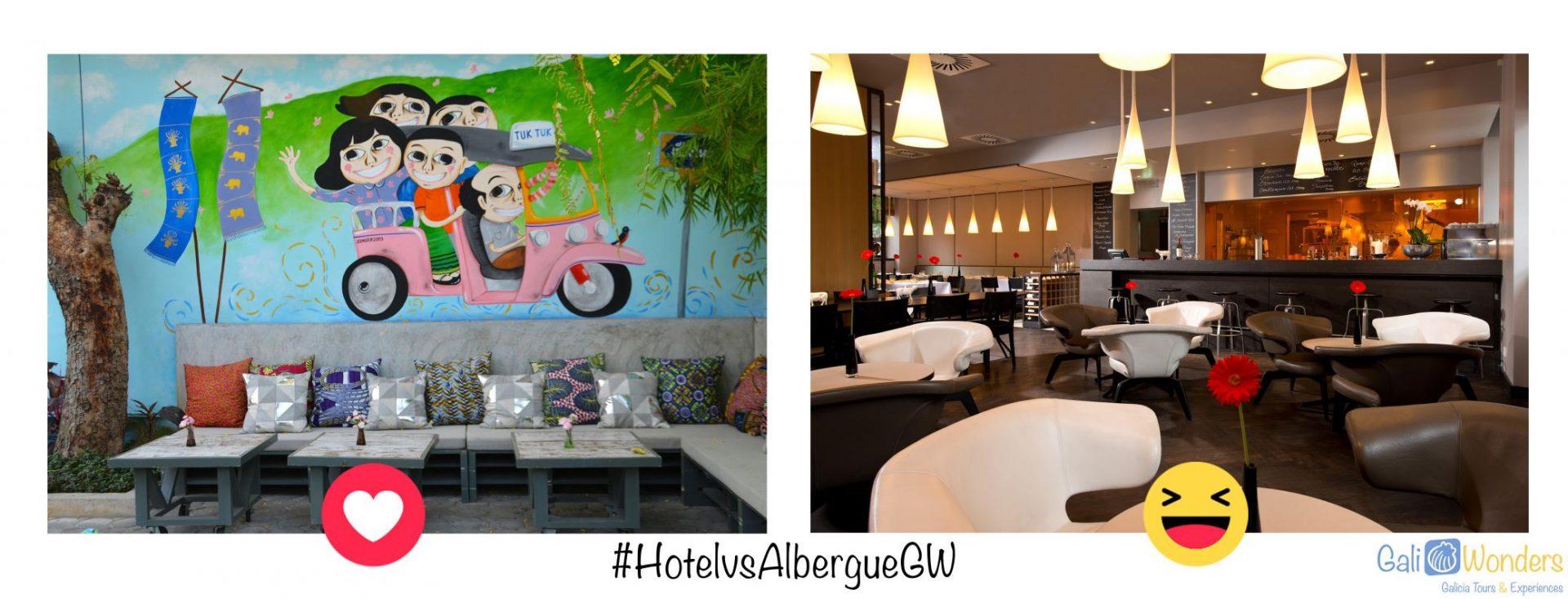 #HotelVSAlbergueGW Galiwonders