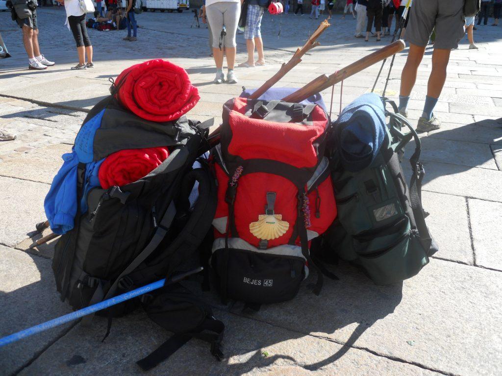 Luggage transfer on the Camino de Santiago