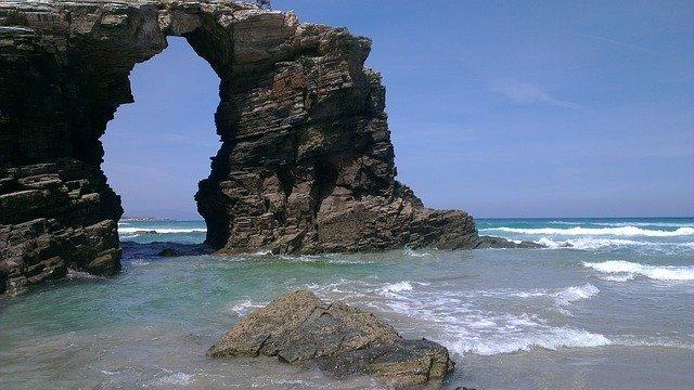 playa de las catedrales santiago de compostela