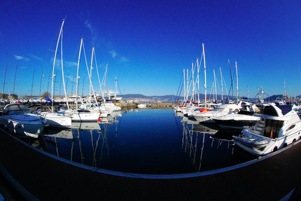 Puertos con encanto Galicia