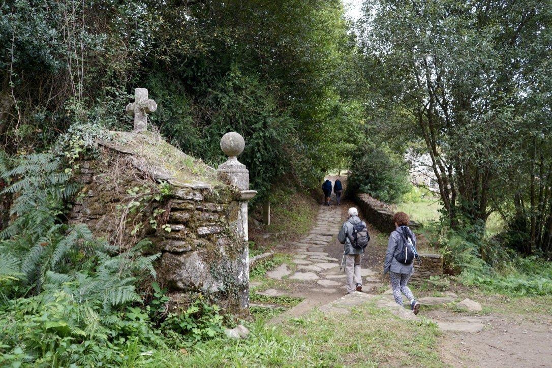 start of the Camino de Santiago Galiwonders