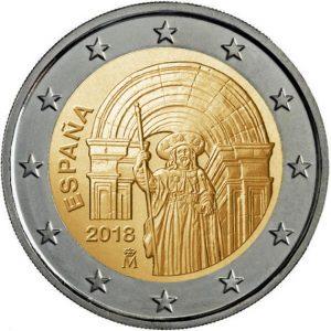 Moneda 2 € Camino de Santiago GaliWonders