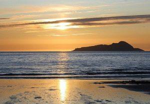 Puesta de Sol en Playa de la America en Nigrán GaliWonders