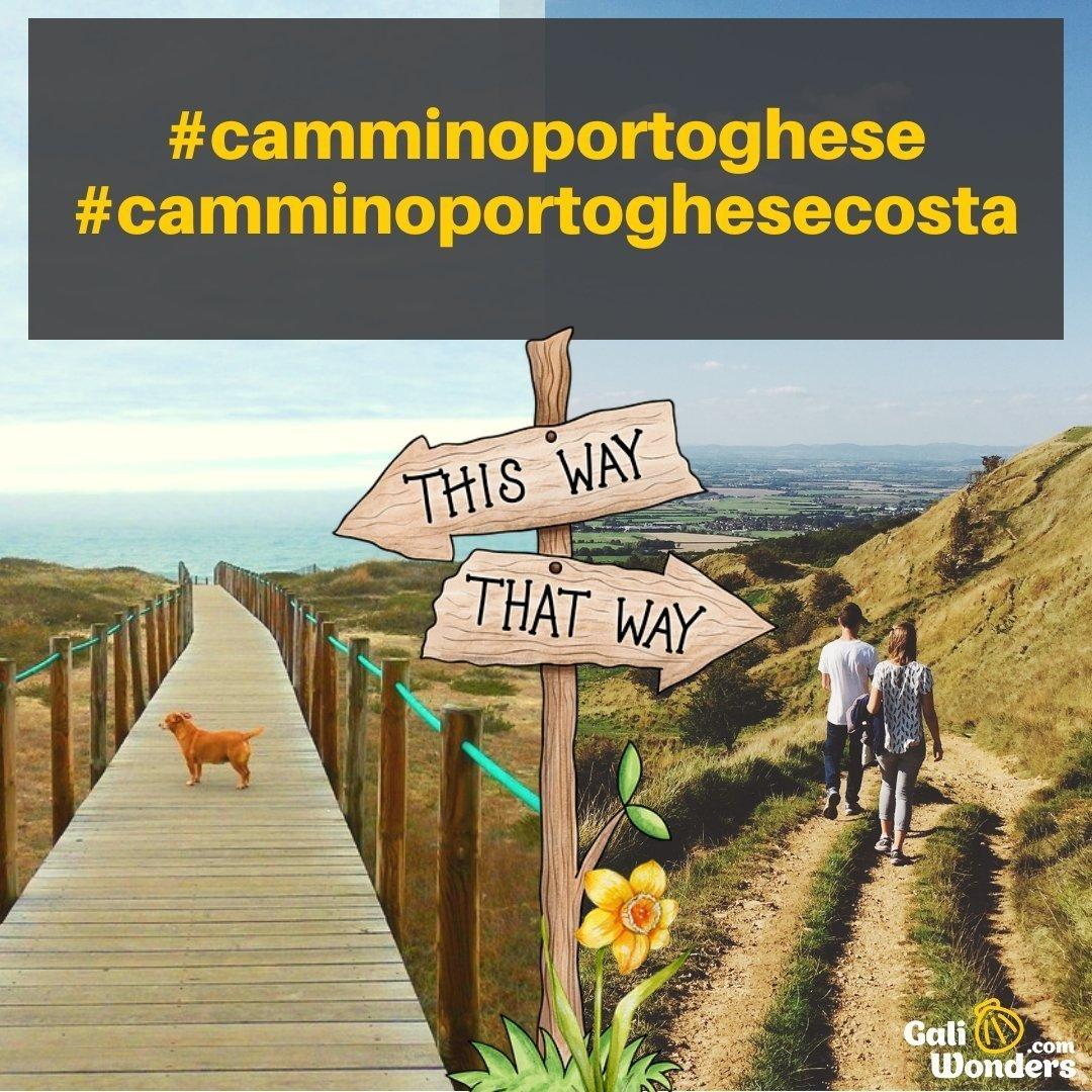 cammino portoghese o costa
