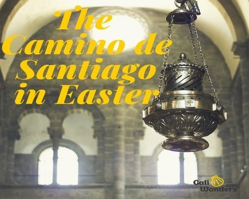 Camino in Easter