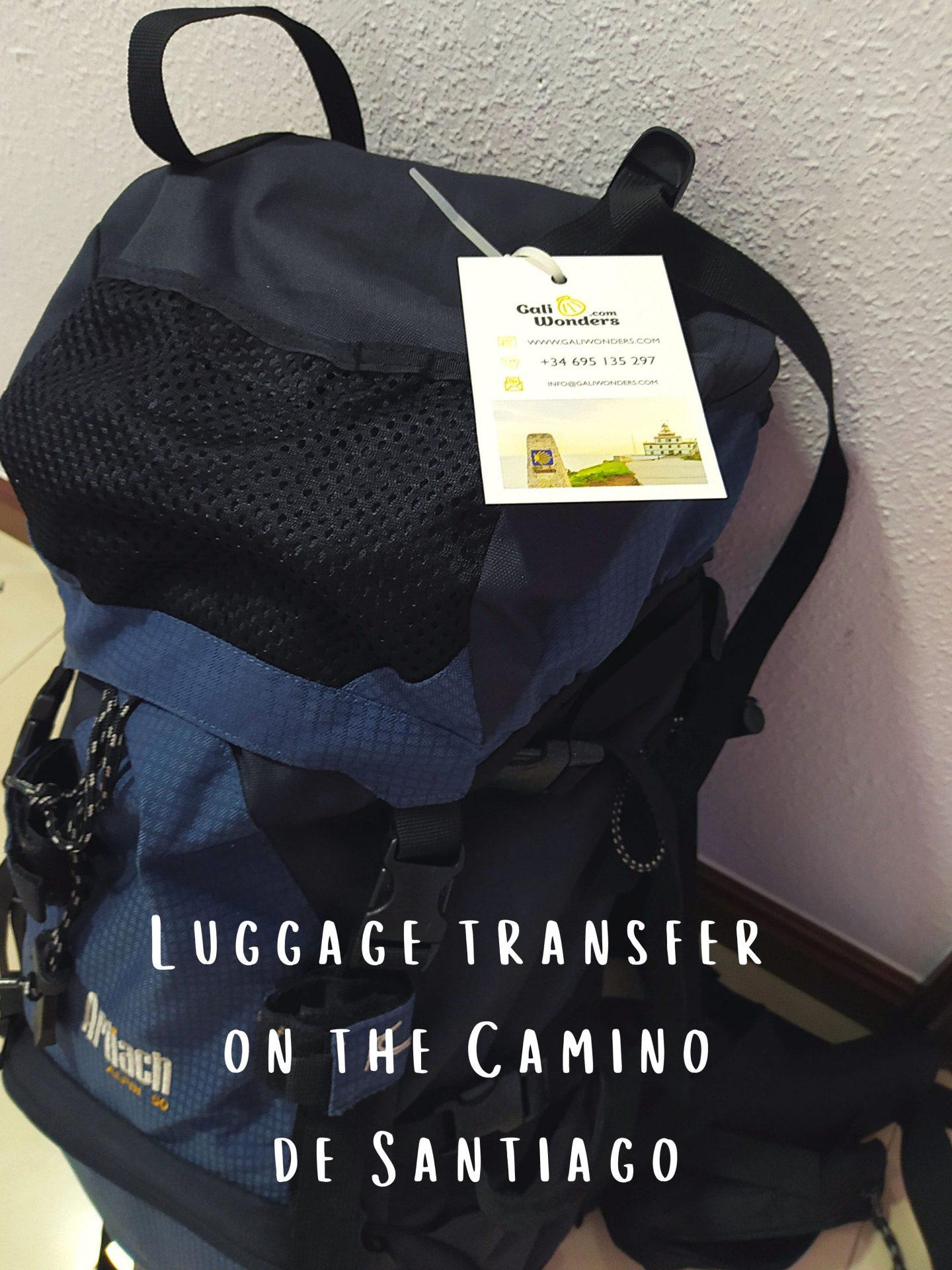 Luggage transfer on the Camino de Santiago-min
