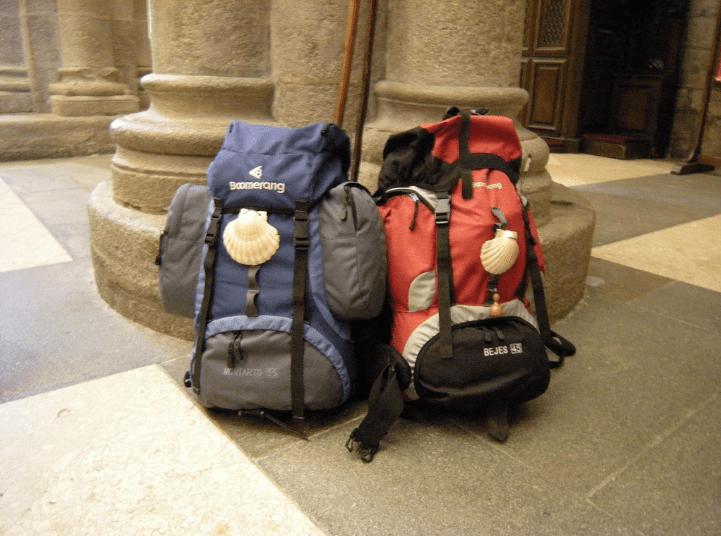 transporte de maletas en el Camino