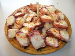 Octopus Galician cuisine