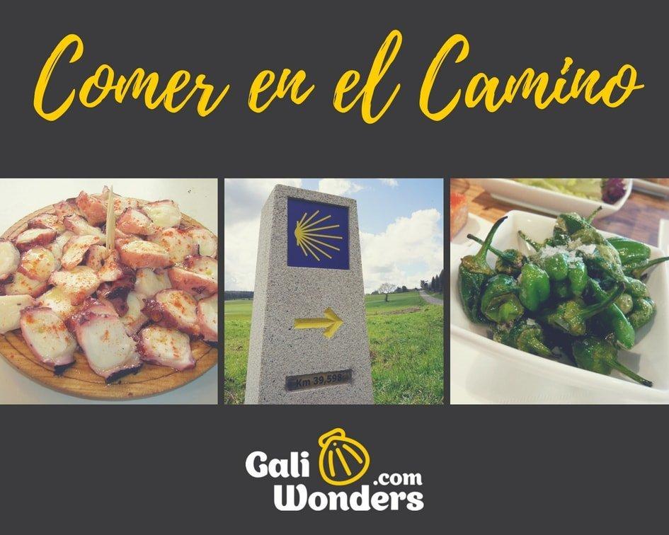 Comidas en el Camino de Santiago Galiwonders