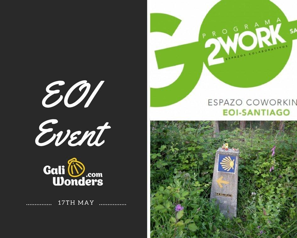 Evento EOI Madrid emprendedores Galiwonders