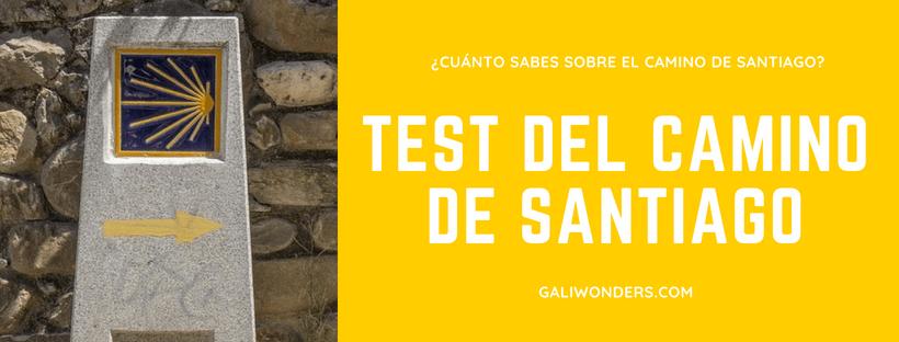 test del camino de santiagotest del camino de santiago