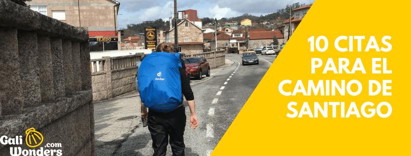 10 Citas Del Camino De Santiago Galiwonders