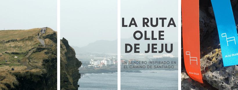 Jeju Olle Trail Camino de Santiago