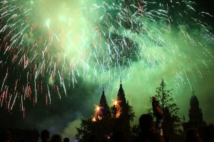 Santiago de Compostela Fuegos del Apóstol