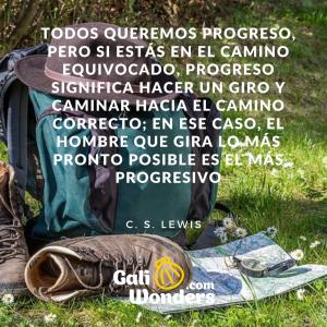 citas camino santiago lewis