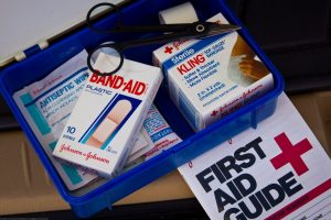 Things to pack for the Camino de Santiago first aid kit