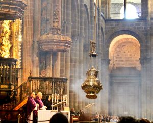 botafumeiro Percances de la Catedral de Santiago
