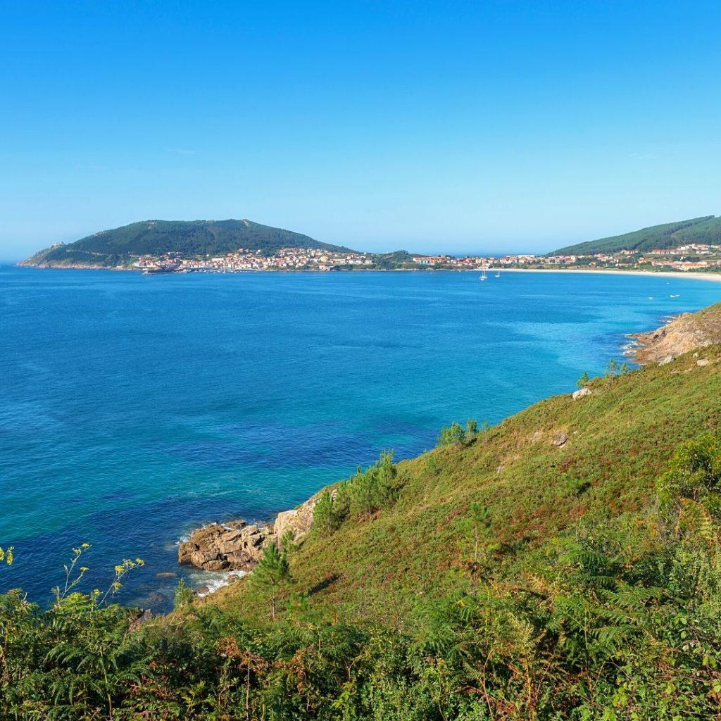 camino de santiago routes by the sea