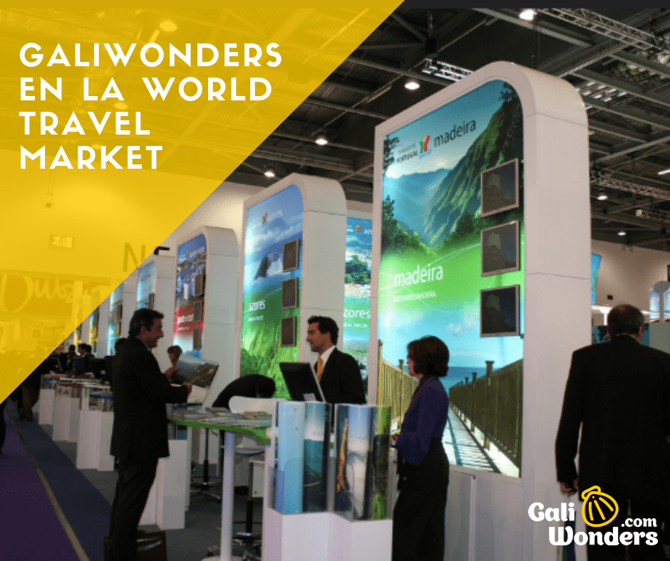 Galiwonders en la World Travel market camino de santiago