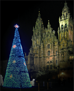 Walking the Camino in Christmas Galiwonders