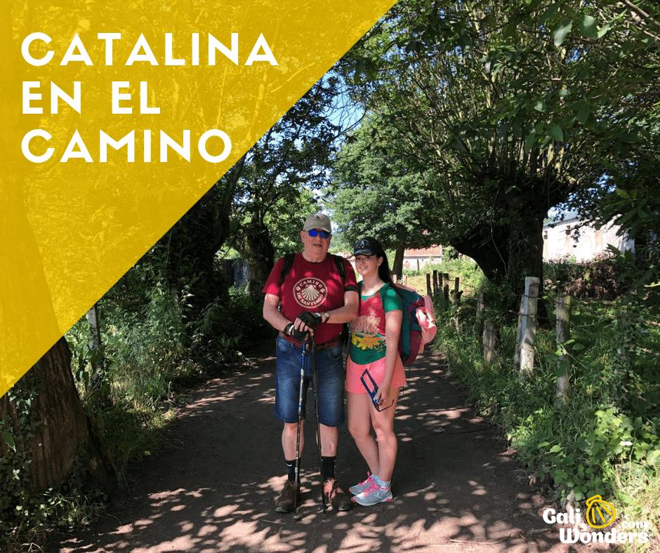 Catalina Camino de santiago galiwonders