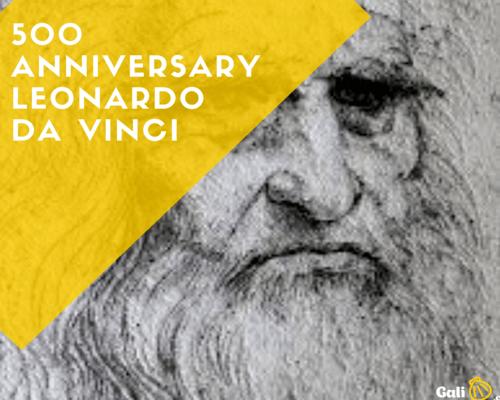 500 anniversary Leonardo galiwonders