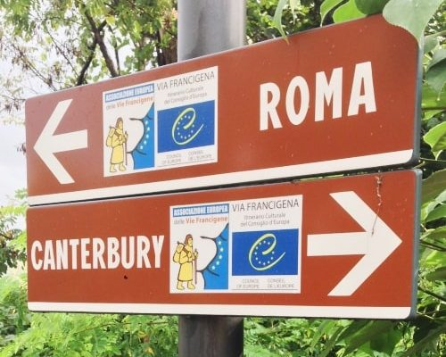 Via Francigena viterbo to roma rome galiwonders