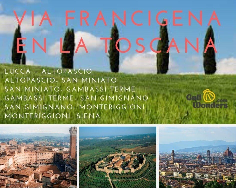 rutas Toscana Galiwonders