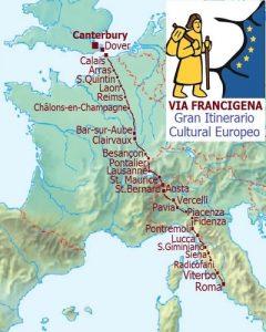 Mappa Via Francigena galiwonders min