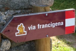 Via Francigena sign galiwonders min