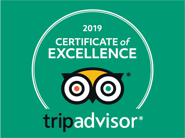 Certificate of Excellence Galiwonders TripAdvisor