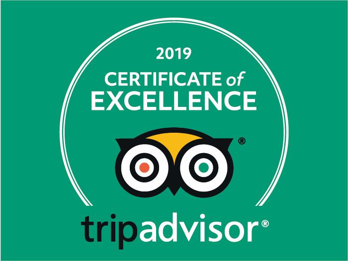 Certificate of Excellence Galiwonders TripAdvisor
