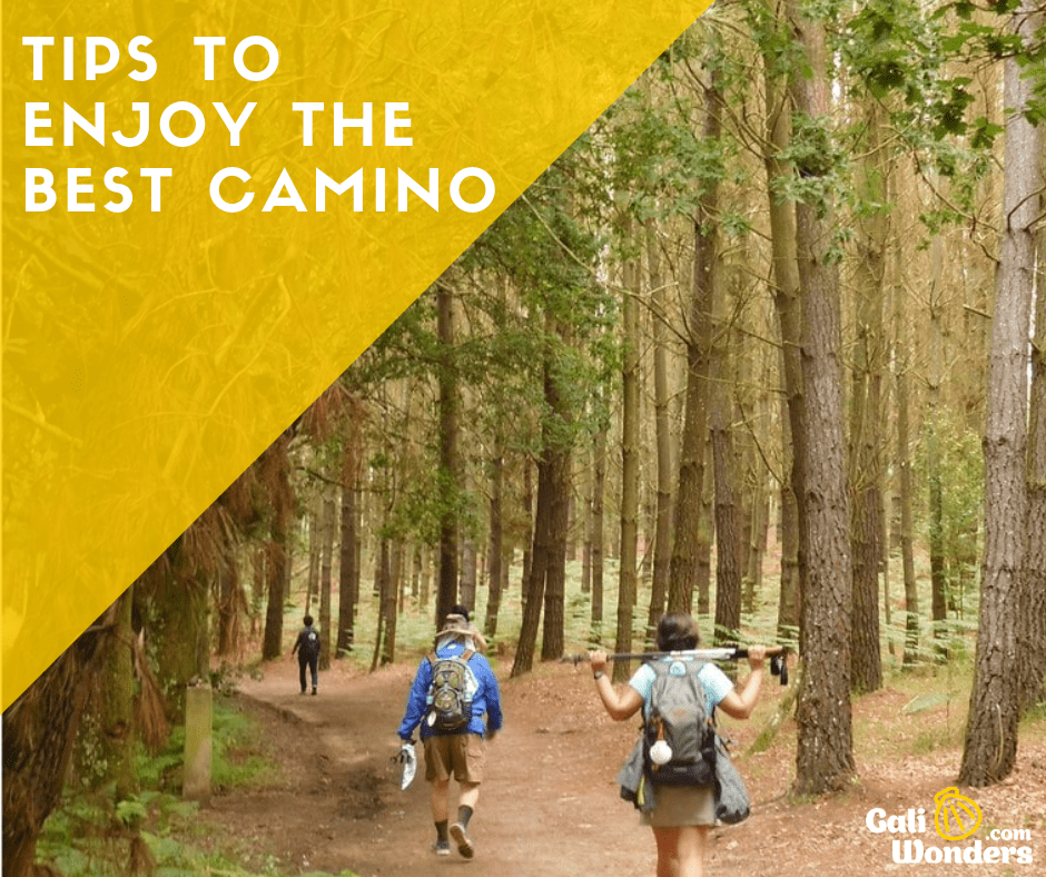 tips camino galiwonders