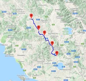 Ultra Maratón Via Francigena galiwonders