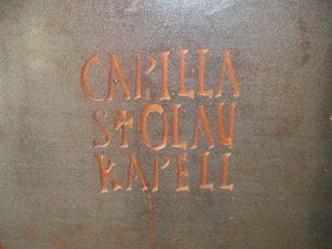 Capilla de San Olav Covarrubias Burgos