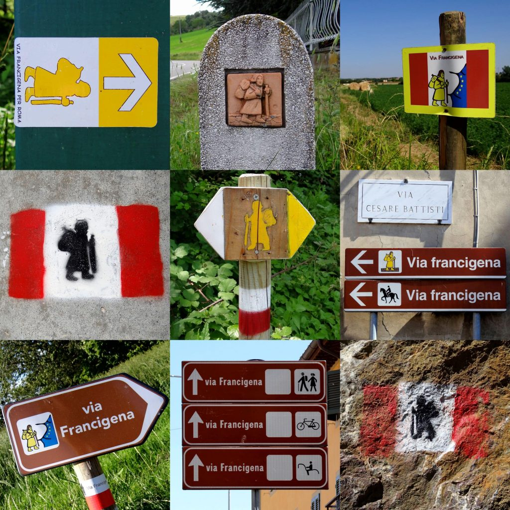 diferencia camino santiago via francigena indicaciones galiwonders