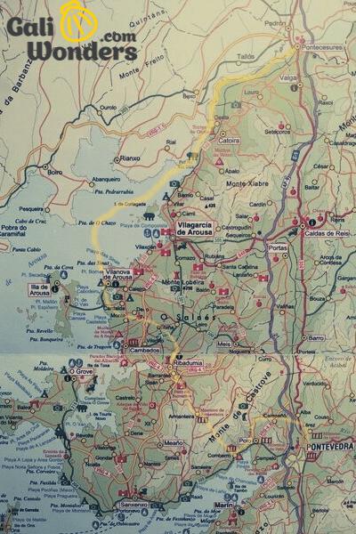 Variante Espiritual Mapa