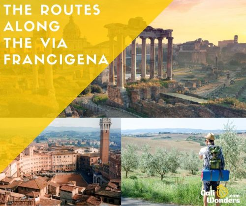 Via francigena routes GaliwondersVia francigena routes Galiwonders