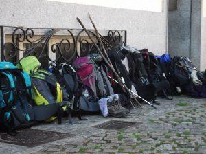 backpacking galiwonders via francigena