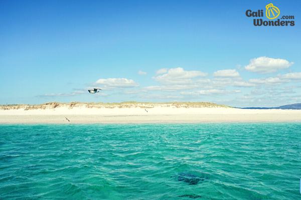 Illa de Arousa Ruta Padre Sarmiento