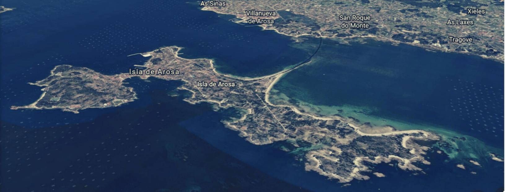 Isla de Arousa Satelite min