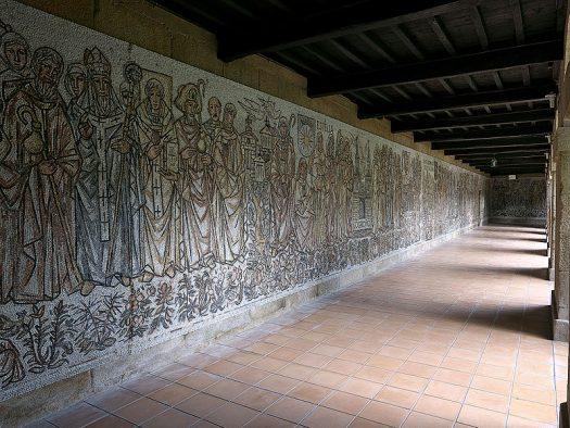 Mosaico Camino Santiago Monasterio Poio min e1576513212793
