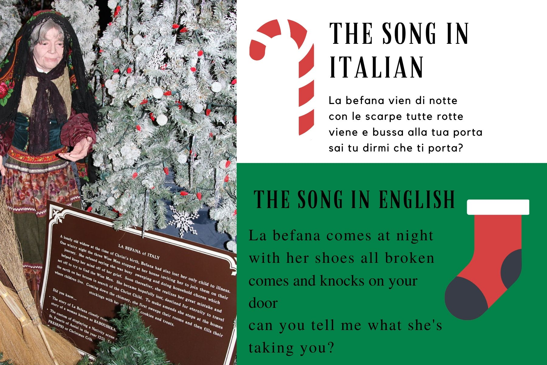 the song la befana tradicions