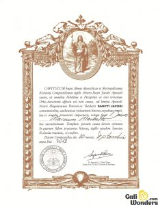 how to get compostela accreditation