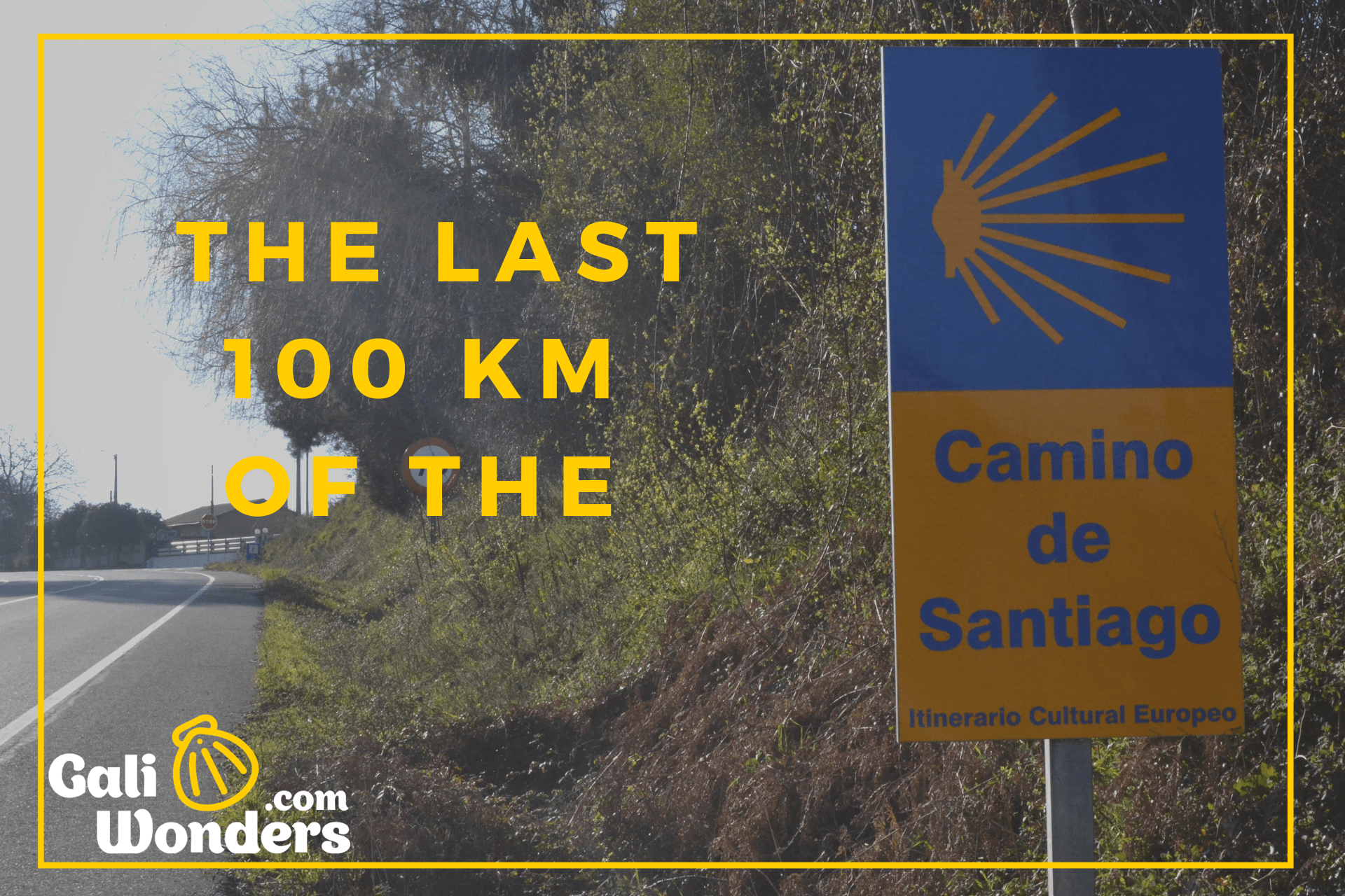 camino de santiago 100 km