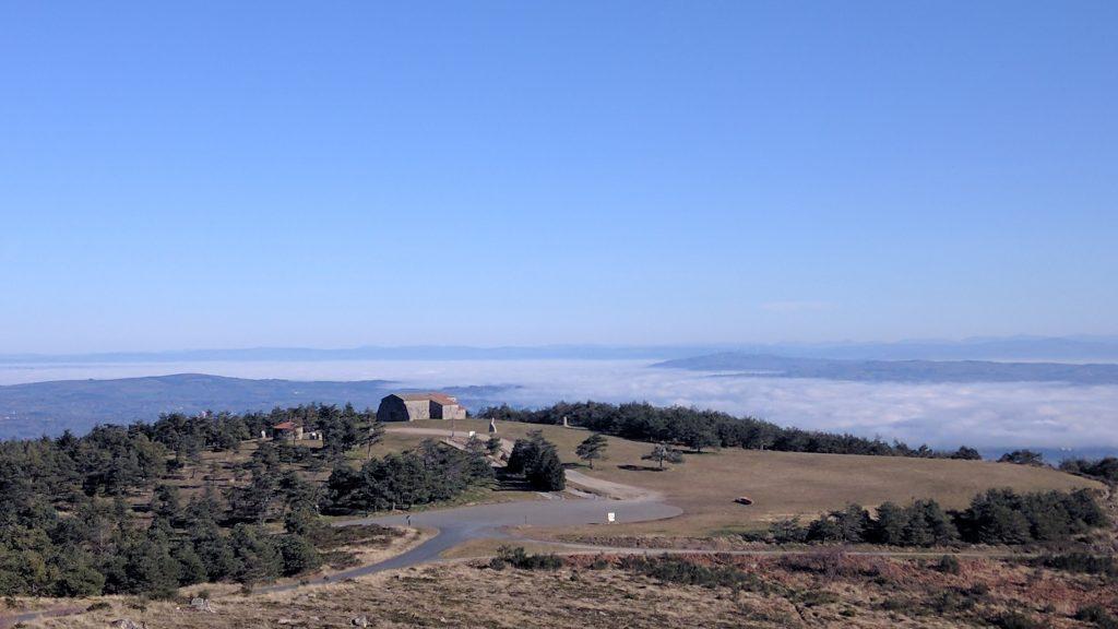 mountain Faro camino Santiago