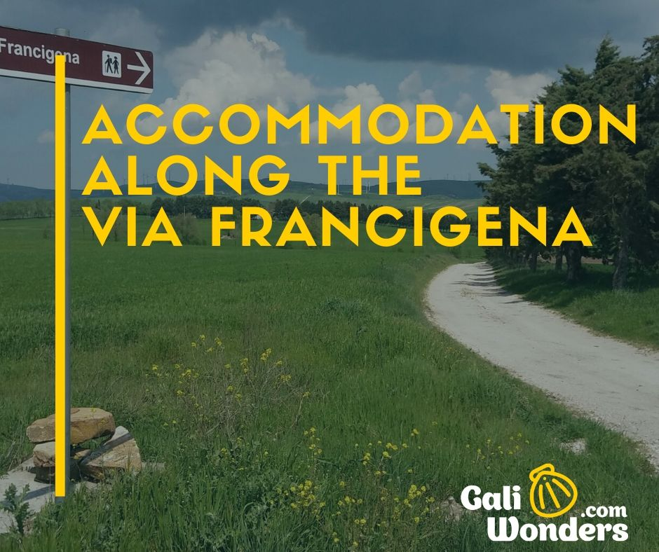 accommodation via francigena