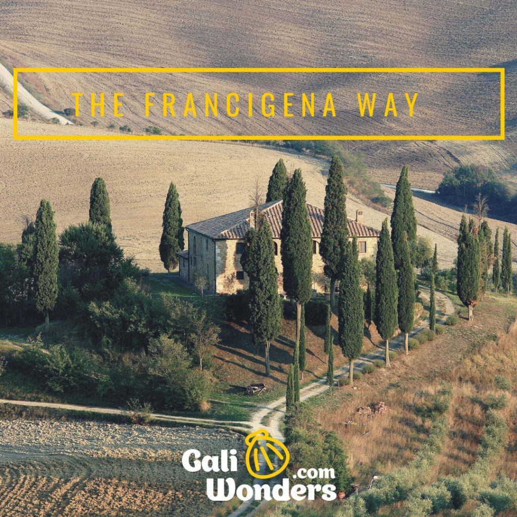 FRANCIGENA WAY TIME