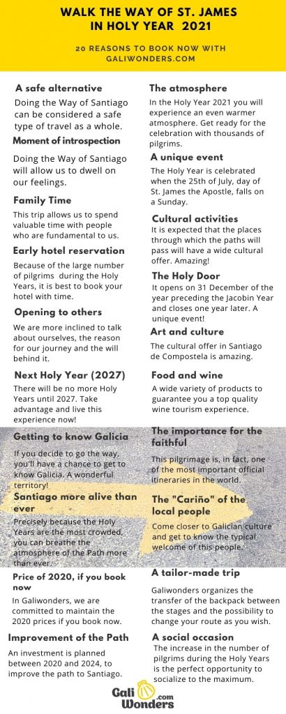 20 reasons to walk the way in holy year