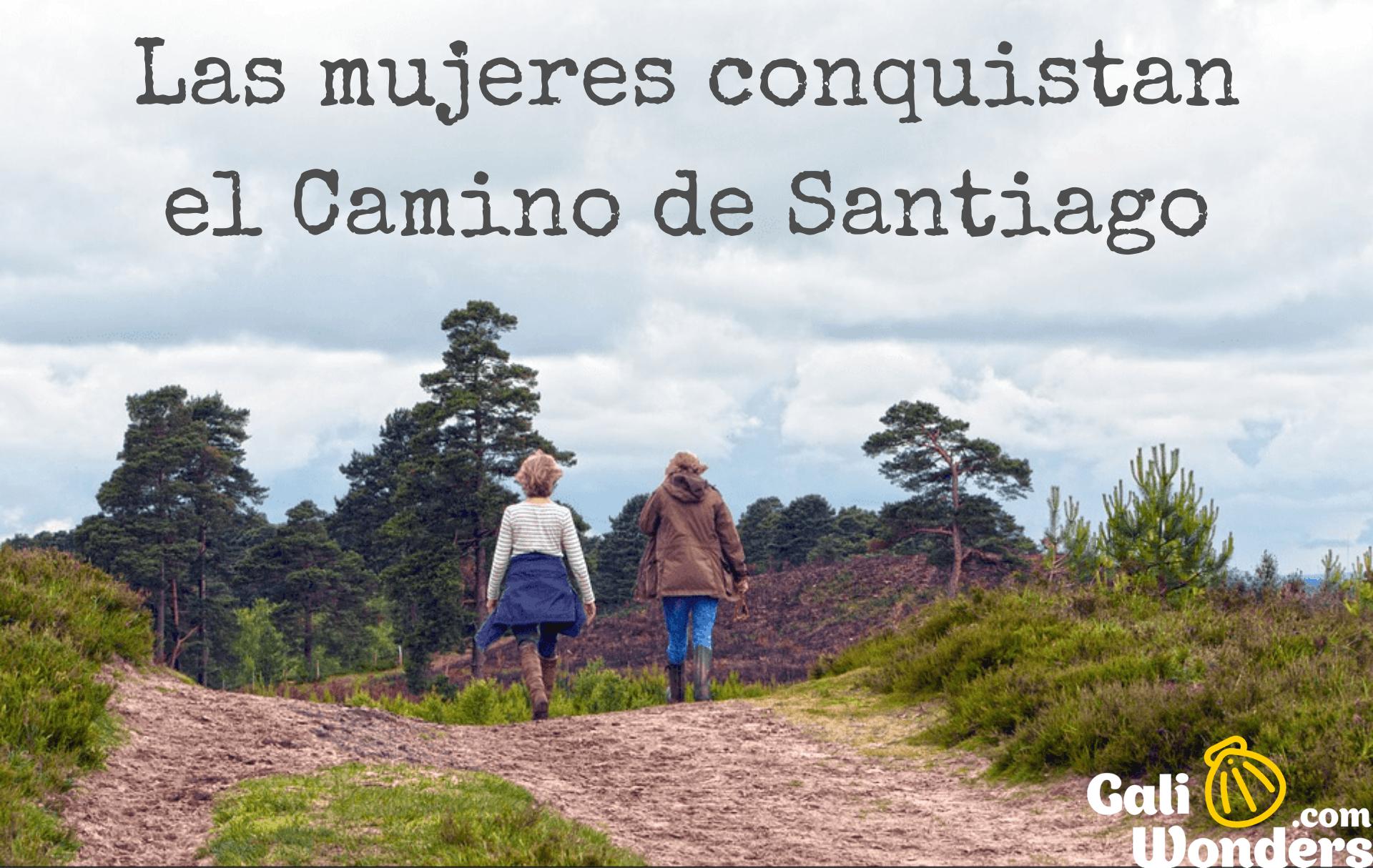 mujeres Camino de Santiago